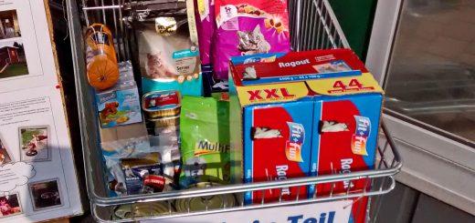 Kauf ein Teil mehr - Spendenwagen